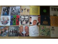 """41 x bros vinyl collection picture discs limited editions LP's /12""""/7"""""""