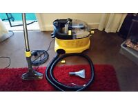 KARCHER carpet & upholstery cleaner mint cond, comes with brand new upgraded tools £210 bargain !!!