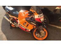 Honda CBR 600cc repsol colours