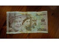 10 pound note rare