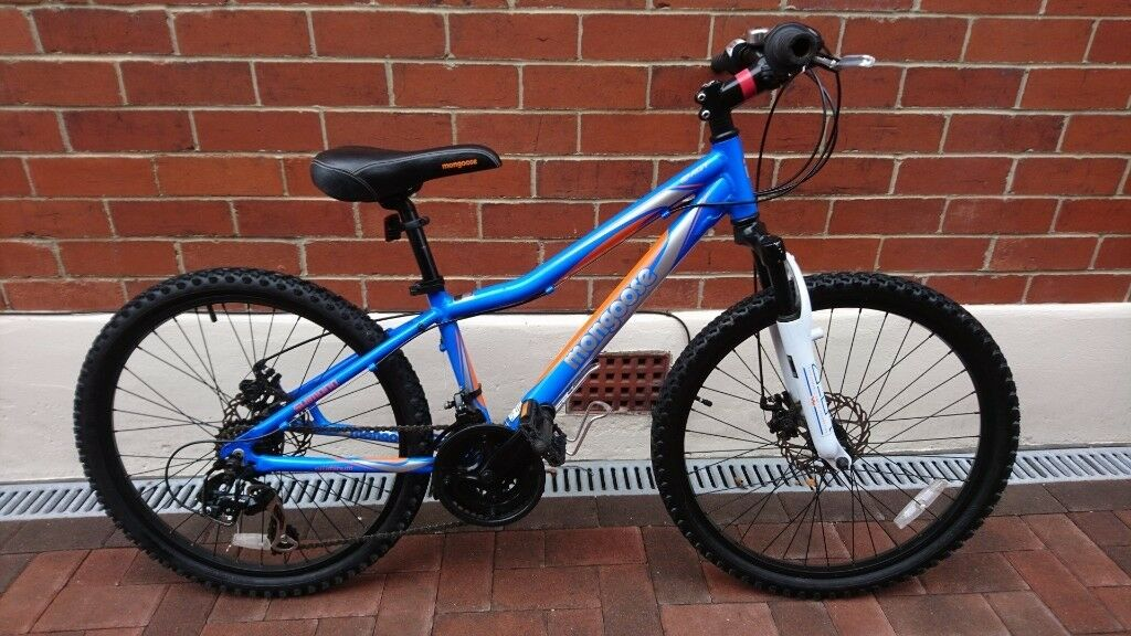 Mongoose Evict 21 Speed 24 Inch Wheel Boys Mountain Bike Qty 2