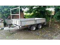 10 X 5 6 ifor Williams trailer dropsides good straight trailer