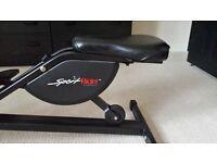Sport rider by health rider exercise machine cross trainer type bike