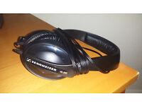 Sennheiser HD 205 Stereo Headphones, 3 Metre Cable