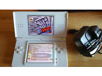 Nintendo DS Lite. Games card with 14+ Games. V good Condition. Bargain. Charger