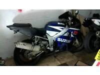 Suzuki gsxr 600 750 k1 k2 k3