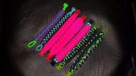 Handmade Survivor Paracord 550 Bracelets 1