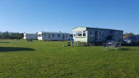 3 bedroom caravan for holiday let in very quiet site in Benderloch, Oban