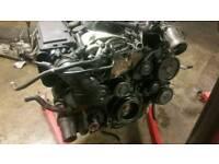 Mercedes 220 diesel engine low mileage