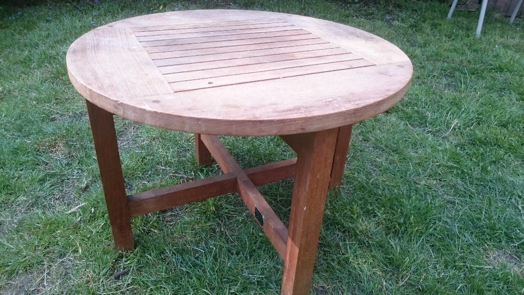 Teak indoor outdoor coffee side table using timber from SS ...