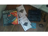 Behringer BCD 2000 mp3 DJ controller mixer