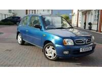 2001 Nissan Micra 1.0 16v S 3DR++Full Service History+Drives well