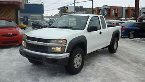 2007 Chevrolet Colorado LT     4 X 4  CAB  1/2