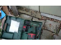 2 Bosch 24v cordless drill 3 batteries come with 2 boxes no charger not tested hence £30 the lots