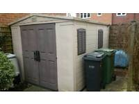 Keter 12' x 8' shed in excellent condition