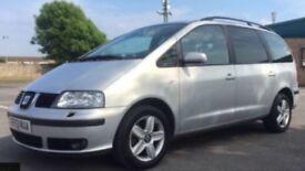SEAT ALHAMBRA 1.9 TDI SE 7 Seats Diesel 5dr MPV (2003) 53 reg £2,795,00