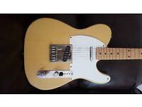 1986 Squier by Fender Telecaster Made in Japan E-Serial Butterscotch Blonde