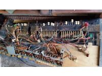 Hammond Organ Drawbars, assembly and switches, etc