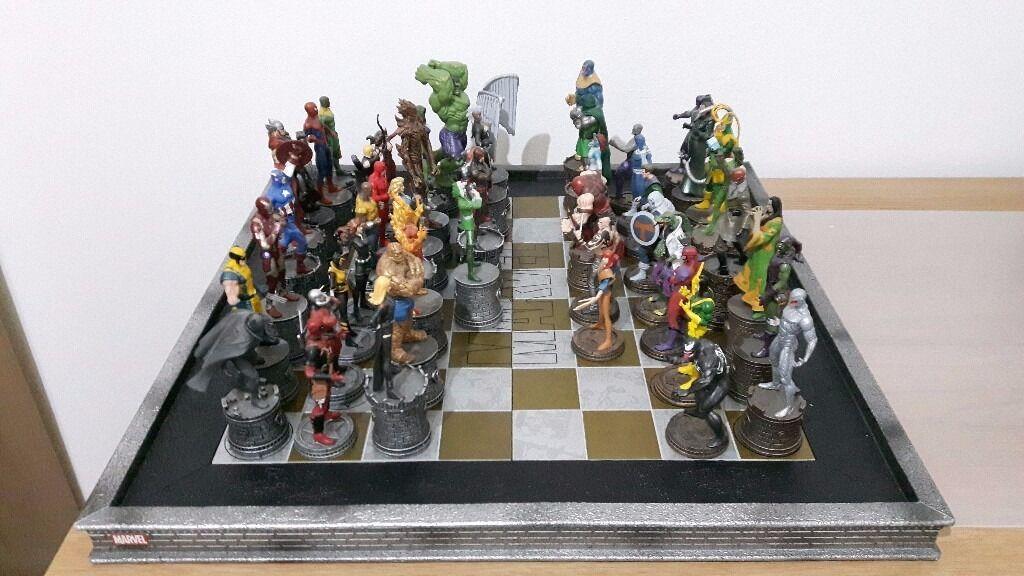 Eaglemoss Marvel Chess Collection Avengers X Men
