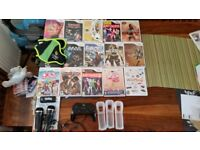 Nintendo Wii games and controlers