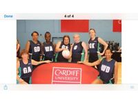 CAN YOU PLAY A NETBALL MATCH THIS SATURDAY?