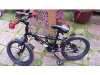 Child's bike - Apollo Urchin with matching helmet.