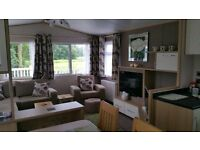 Nr YORK! Luxury 2 bed static holiday caravan with great views to rent Goosewood Holiday Park York