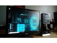 "HP Tri"" Core PC. / Windows 10 / 3d Hdmi"