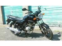 2006 Yamaha ybr 125cc 12 months mot