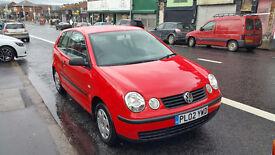 VW Polo 2002 1.2 - MOT Aug 2017 - GREAT CONDITION
