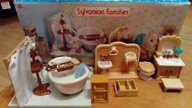 Sylvanian Families Cottage Bathroom Set