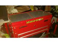 Tool parts box trolly cart