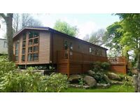 REDCUED LUXURY LODGE FOR SALE IN NORTH WALES-CHEAP - 5* PARK OPEN 12 MONTHS - LUXURY STATIC CARAVAN