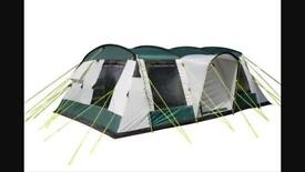 Sunncamp triumph platinum 800 tent and camping equipment