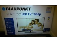 Blaupunkt 50 Inch High Def LED Television.