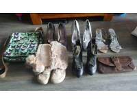 Large collection of women's clothes and shoes