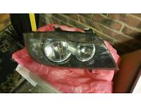 Bmw e90 headlights and standered springs
