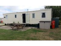 St Osyths Havens Abi Horizon 2014 static caravan. Sleeps 8. Immaculate condition & central heating