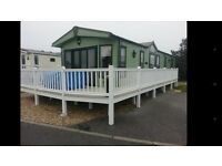Stunning Pemberton Holiday Home with Decking Included on Presthaven North Wales