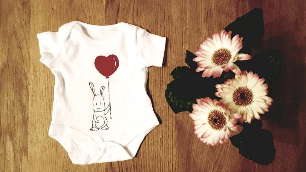 Newborn bodysuit hand made