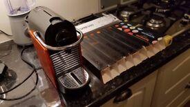 Nespresso Krups Pixie Coffee Machine