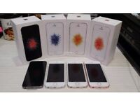 APPLE IPHONE SE 64GB UNLOCKED BRAND NEW COMES WITH APPLE WARRANTY & RECEIPT