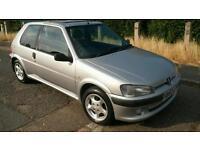 Peugeot 106 2001 s/history