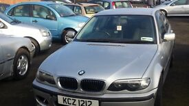 BMW 320 se Diesel 5 Door in Silver spares and repair runs and drives