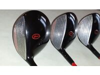 howson driver , 3 and 5 wood for sale