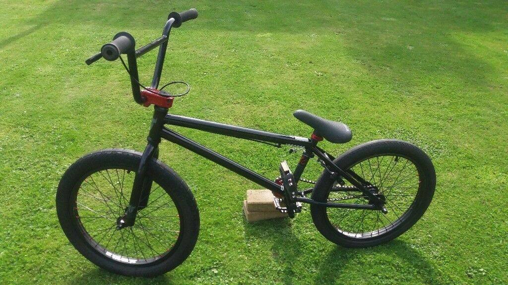 Premium Solo Black Red Bmx Bike In London Gumtree