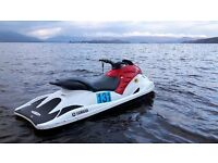 2004 Yamaha GP1300R with galvanised roller coaster trailer