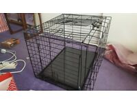Dog Cage (as new, used once) at half new price
