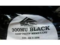 Plastic sheeting - Damp Proof Membrane