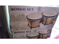 4 piece Bongo set